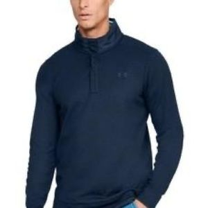 Under Armour Men's Fleece Snap Mock, Size 3XLT